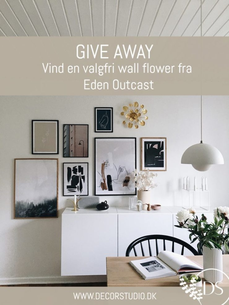 Give away vind en valgfri wall flower fra Eden Outcast