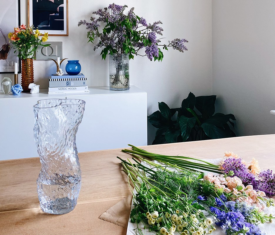 Tips til at style din egen blomster buket