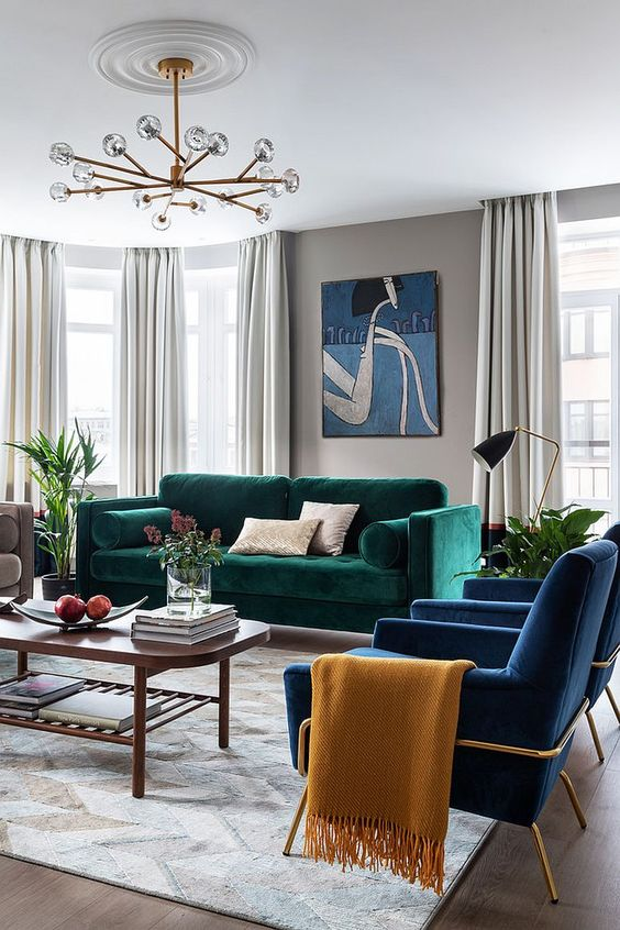 10 Breezy Blue Living Room Ideas To Freshen Up The Atmosphere Decortrendy