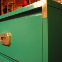 I'm Looking Over Four-'Drawered' Clovers: Emerald Green Campaign Dressers