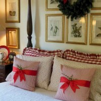 40+ The Ugly Side Of Simple Farmhouse Christmas Bedroom Decor 2