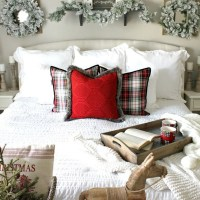 40+ The Ugly Side Of Simple Farmhouse Christmas Bedroom Decor 4