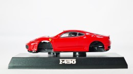 1-64 Kyosho Ferrari Minicar Col 2 - F430 2005 - RED - 01