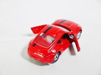 Tomica Assembly Factory Series 3 Elasto NISSAN Fairlady Z Z34 - RED Body & RED Inter - 06