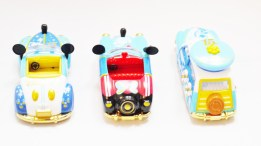 Tomica Tokyo Disney Sea 15th Anniversary - Mickey & Donald Vehicle Set - Full 3pc - 09