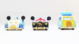Tomica Tokyo Disney Sea 15th Anniversary - Mickey & Donald Vehicle Set - Full 3pc - 10