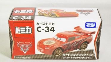 Tomica Disney Pixar Cars C-34 Lightning McQueen (TOON Tokyo Ver) - 08