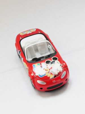 TOMICA-Disney-Mickey Mouse D-37 Club House Roaster Car - 03