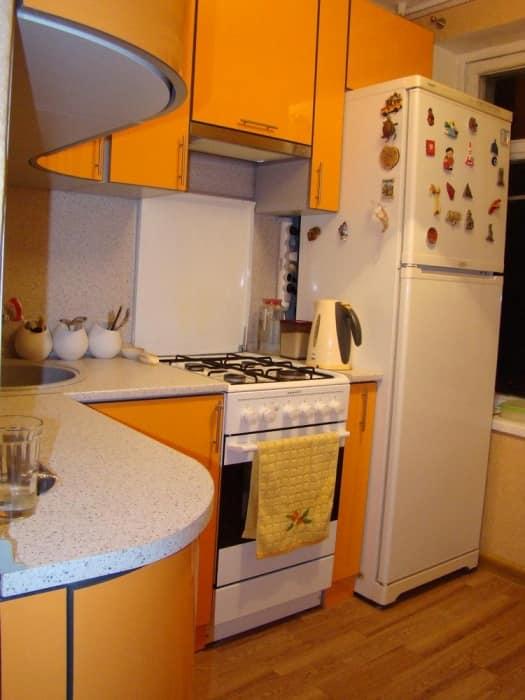кухни в брежневке фото дизайн малогабаритные 6 квм 3