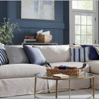 18 Spectacular White And Blue Living Room Ideas For Modern Home 2