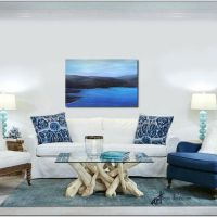 18 Spectacular White And Blue Living Room Ideas For Modern Home 20