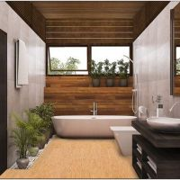 22 Modern Master Bathrooms Features Connected To Nature