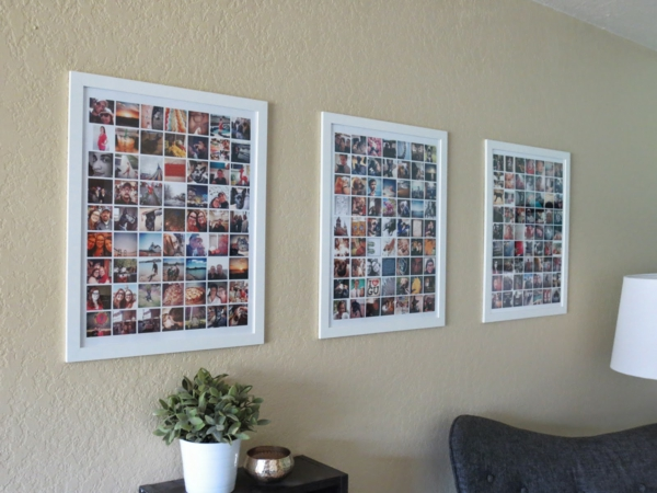 poster frame and photo frame collage