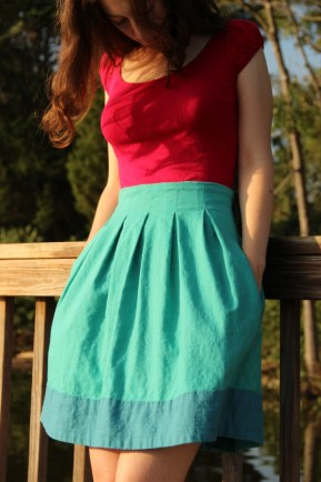 Chardon skirt by Camille of Attack of the Seam Ripper