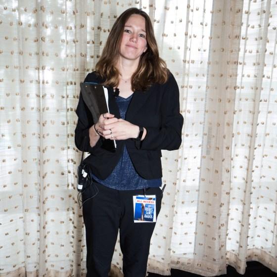 The Wonderful Tori at the WGAW Awards
