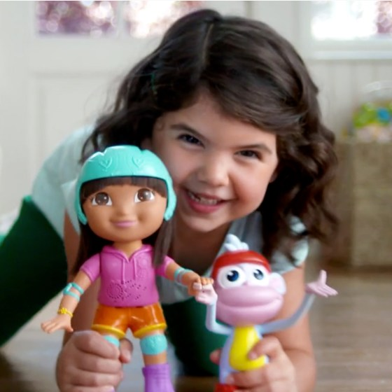 Skate & Spin Dora and Boots