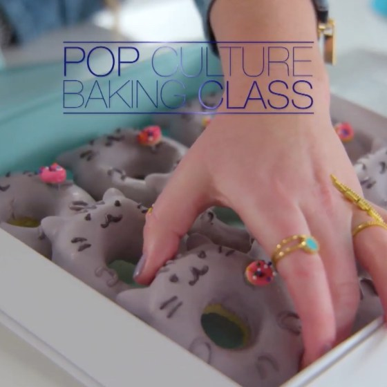 Pop Culture Baking Class