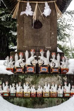 sanctuaire inari jinja matsue chateau shimane