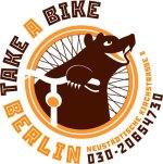 logo take a bike découvrir berlin visite guidée en français