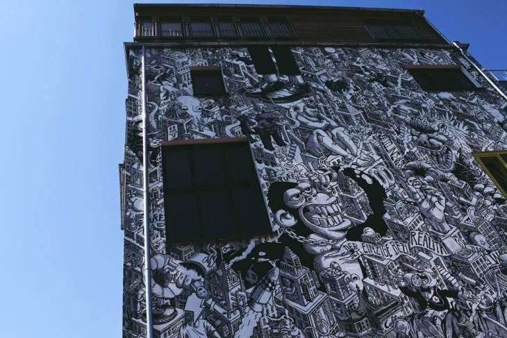 street art découvrir berlin façade