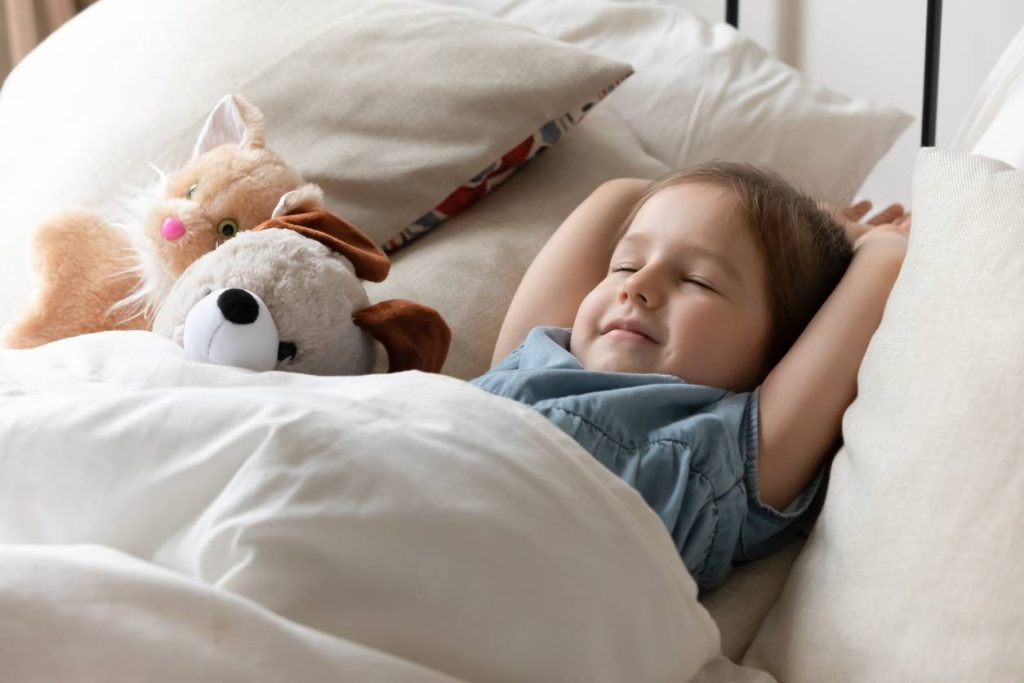 sleeping bag or duvet
