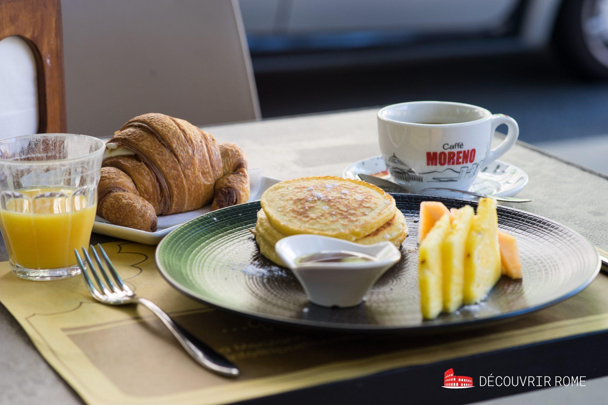 Petit déjeuner Rome