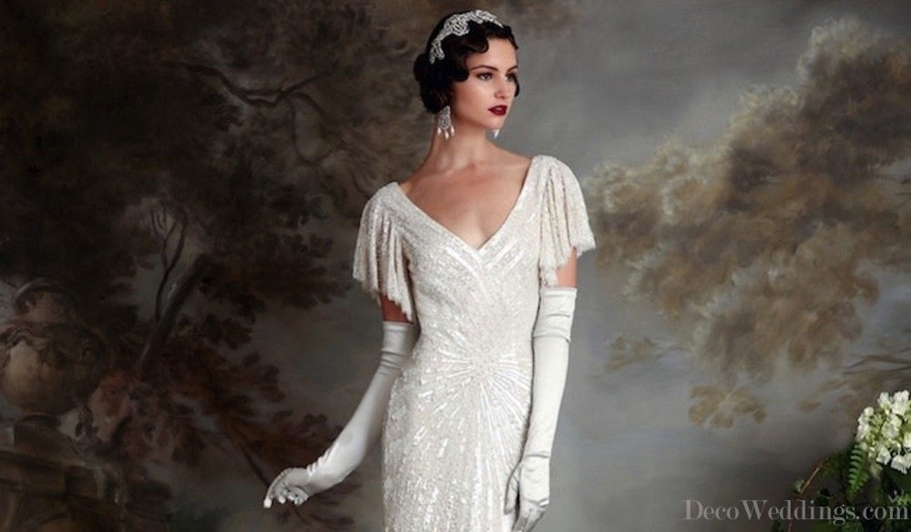1920s Wedding Dresses