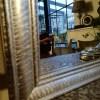Spiegel in Silber
