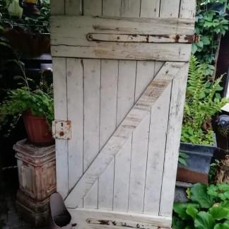 alte Holztüre für Shabby Liebhaber