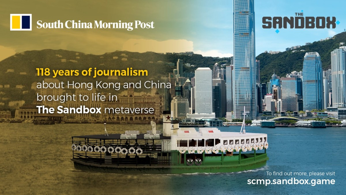 SCMP teams up with The Sandbox
