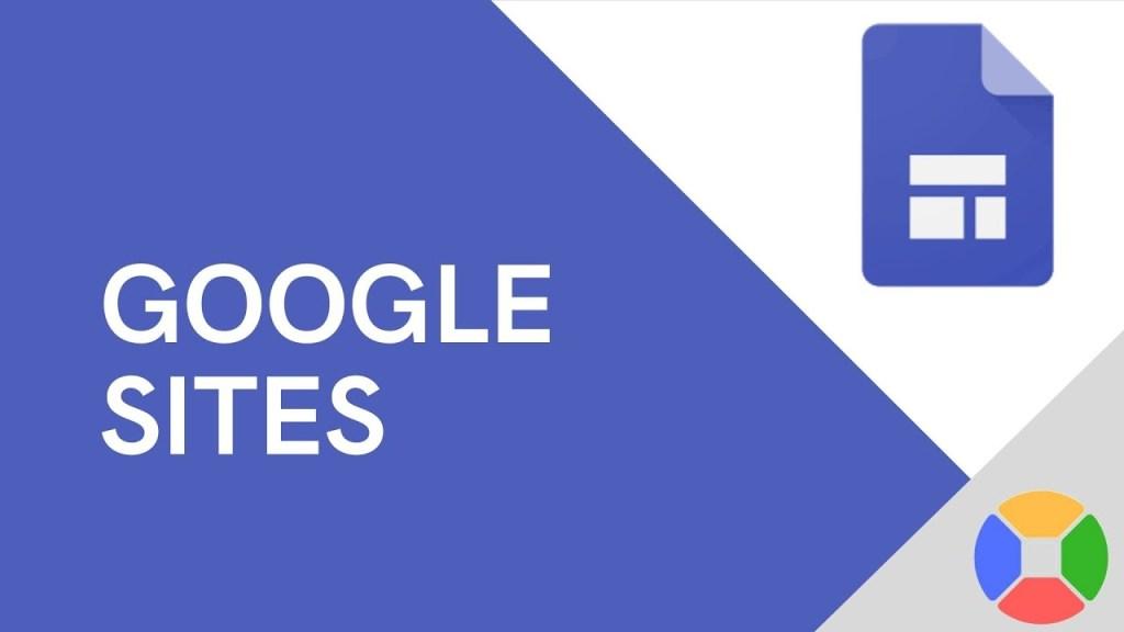 Curso de Google Sites gratis