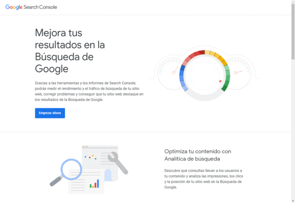 Curso gratis de Google Search Console