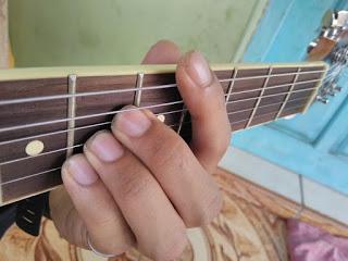 kunci gitar C#