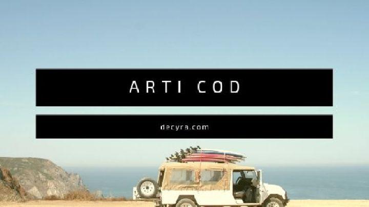 arti cod