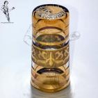 DEME10 Dedal Cristal Egipcio colores y oro