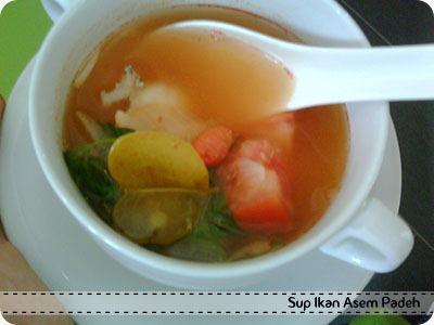 Sup Ikan Asem Padeh