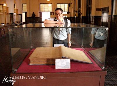 mandiri04 - Museum Bank Mandiri di Kota Tua, Jakarta
