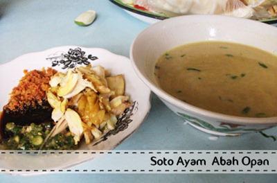 Soto Ayam Abah Opan