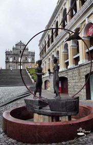 dscf3760 fhdr - Macau Trip : Senado Square, Ruin of St. Paul, Grand Lisboa Casino