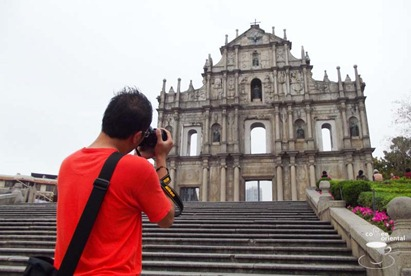 dscf3777 fhdr - Macau Trip : Senado Square, Ruin of St. Paul, Grand Lisboa Casino