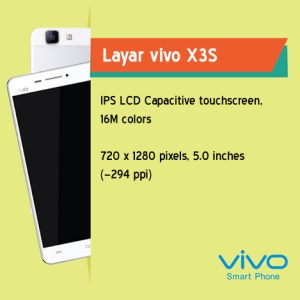wiki01 - Vivo X3S, Ponsel Octa Core Kaya Fitur Dengan Desain Tipis