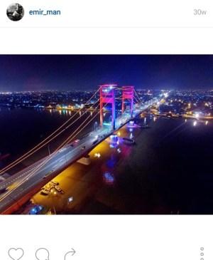 ampera2 - 10 Lokasi Hits Instagramable di Palembang