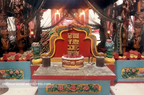 Makam Tan Bun Ann, Putra Raja Tiongkok