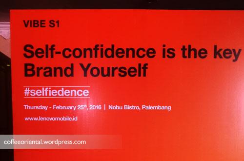 self01 - Malam Jumat Bersama Vivid F. Argarini dan Lenovo Vibe S1 Mengenai Selfiedence