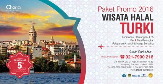 banner tour turki - Daftar 10 Tempat Wajib Dikunjungi Bersama Cheria Travel di Turki