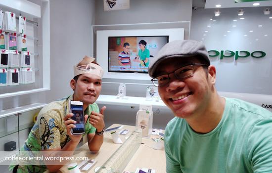 oppo02 - Nangkring Seru Pakai OPPO F1, Selfie Sempurna Setiap Saat