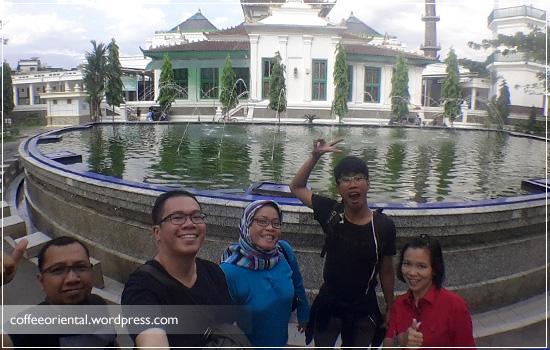 Masjid Agung Palembang ; 5/9/2015 4:53 pm