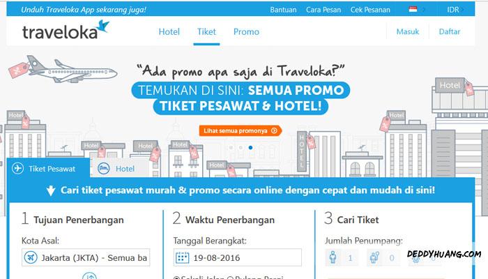 traveloka 01 - 5 Alasan Booking Tiket Pesawat dan Hotel Murah Pakai Traveloka