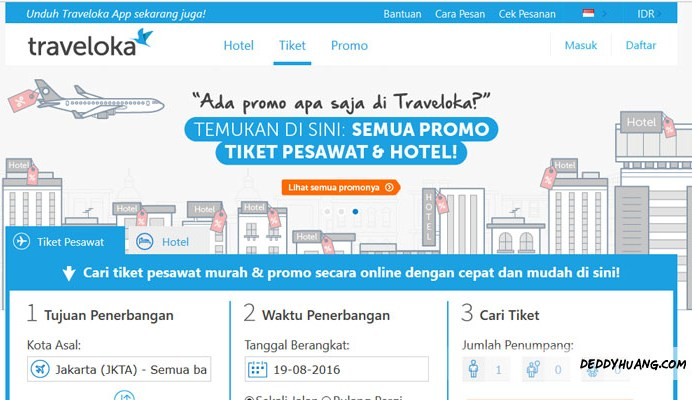 traveloka 01 - 5 Alasan Booking Tiket Pesawat dan Hotel Murah Pakai Traveloka