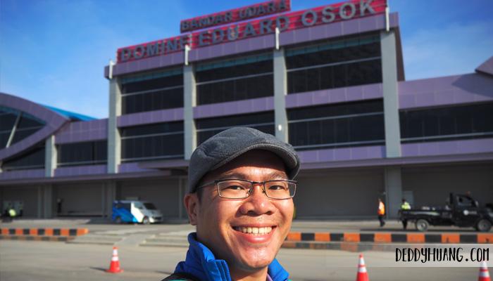 bandara domine eduard osok - Jelajah Raja Ampat: Pulau Mansuar, Surga Wisata Bahari Indonesia Mendunia (Bagian 1)